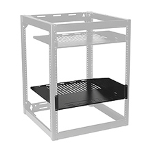 View AV component rack shelves and drawers here.