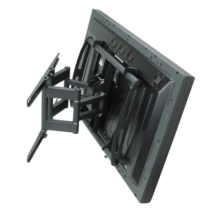 premier mounts am175 swing out arm for 42 63 inch displays black. Black Bedroom Furniture Sets. Home Design Ideas
