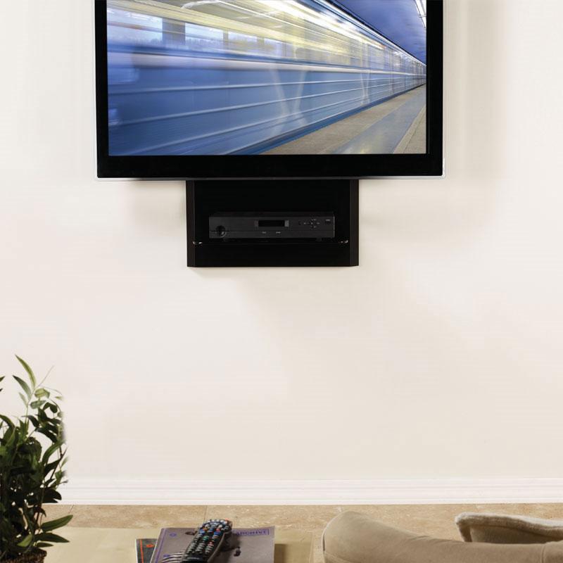 Omnimount Blade1 Single Glass Shelf Av Wall System