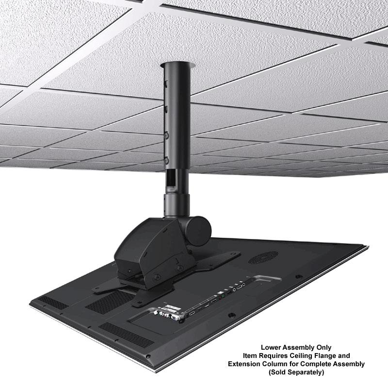 Crimson Extreme Tilt Ceiling Tv Mount Lower Assembly For