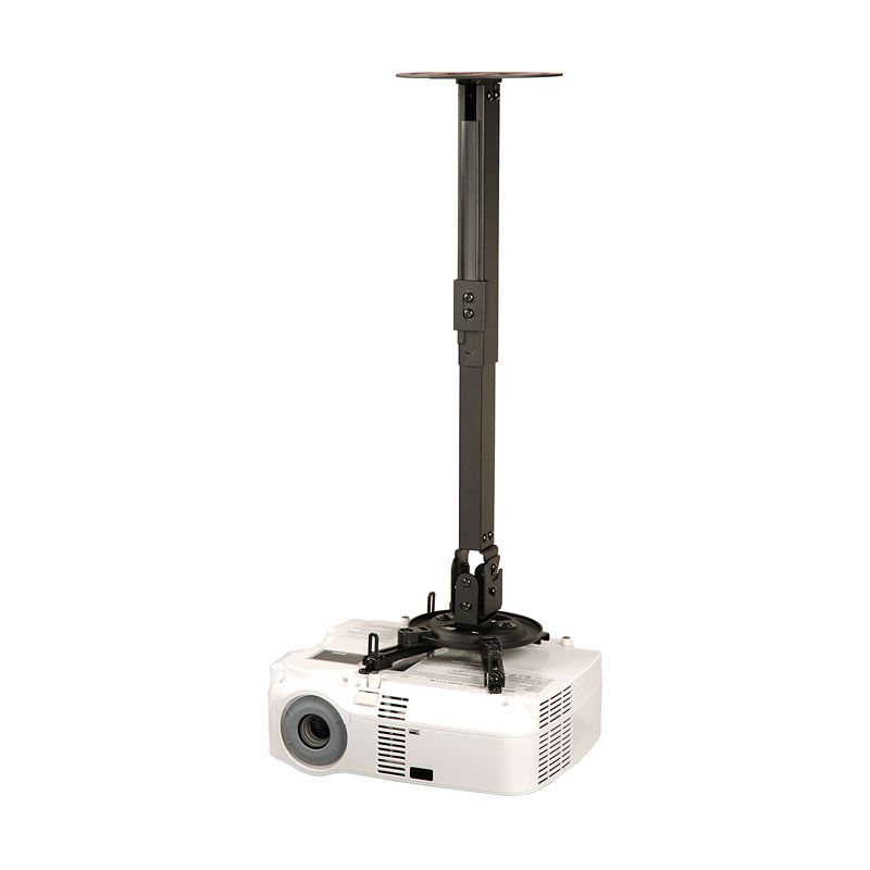 Peerless Ppb Black Projector Wall Or Ceiling Mount With 17