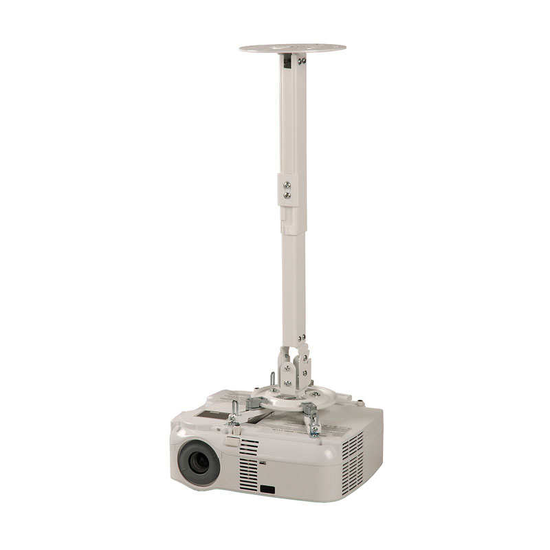 Peerless Ppb W White Projector Wall Or Ceiling Mount With