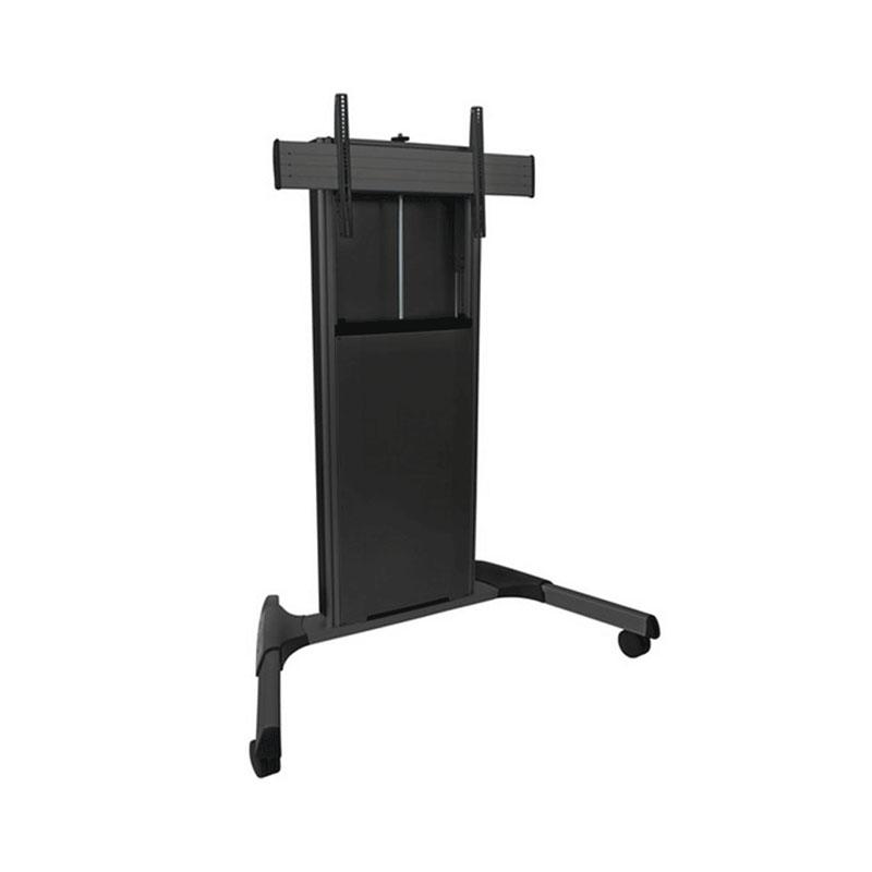 Chief XPA1UB FUSION XL Manual Height Adjustable Black AV Cart