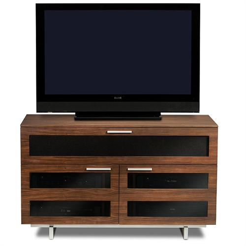 BDI Avion II 8928 CWL Enclosed TV Cabinet for 32-50 inch Screens (Chocolate Stained Walnut)