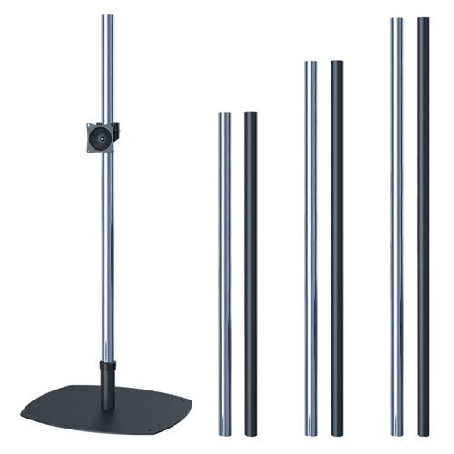 View a larger image of the Premier Mounts - PSP60, PSP72, PSP84 - Single Pole Floor Stand for Small to Mid Size Screens.