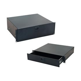 View a larger image of the Audio Visual Furniture 9052 Rack Mounted Sliding Drawer (2RU or 3RU).