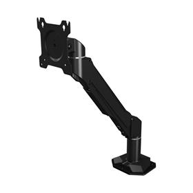 View a larger image of the Crimson DSA11F Single Link Single Screen Desk Mount with Flat Base.
