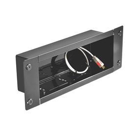 View a larger image of the Peerless IBA3 Black Recessed Cable Management Storage Box.