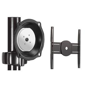 View a larger image of the Chief JPPUB Black Universal Pivot Pole Mount for Mid Size Screens.