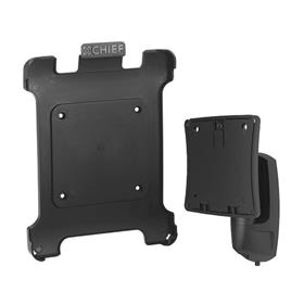 View a larger image of the Chief K0W100BXI2B Kontour Extreme Tilt Mount with Portable iPad Bracket.