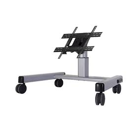 View a larger image of the Chief MFQUS Medium Silver Confidence Monitor Cart (2 ft).