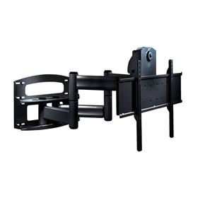 Peerless Large Matte Black Articulating Tv Mount With