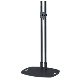 View a larger image of the PSD-TL84B 84 inch Black Lightweight Reinforced Floor Stand.