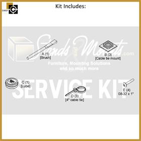 View a larger image of the Chief SL220-SK1 Maintenance Service Kit for SL220 Lifts.