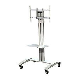View a larger image of the Peerless SR560M-AW White Antimicrobial SmartMount Flat Panel Cart.