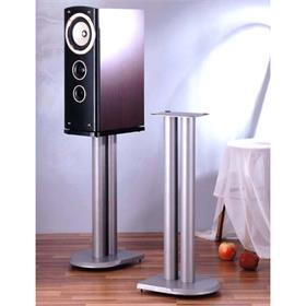 View a larger image of the VTI UF19S Cast Iron Speaker Stands (19 inch Silver).
