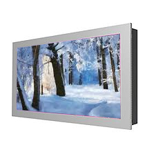 In-Wall on wall Flat Screen Kiosks