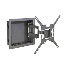 Mount your Flat Screen into the wall with in in-wall monitor mount