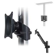 Mount to Pole Monitor Mounts