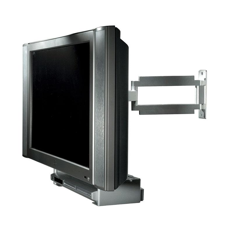 Peerless Acc932 Black Vcr Dvd Mount Connector For Vesa