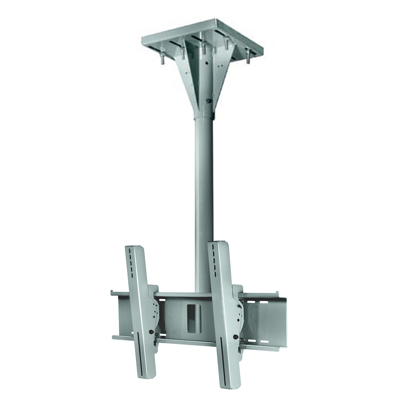 Peerless Wind Rated I Beam Ceiling Tv Mount With 4 Ft Drop