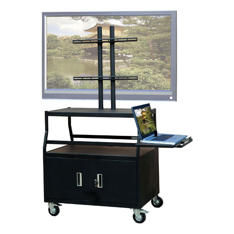 Ordinaire View A Larger Image Of The VTI FPCAB4420E Mobile Cabinet With 55 Inch TV  Mount And