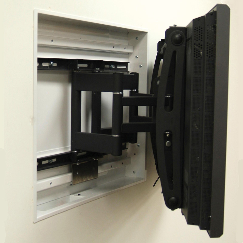 Premier Mounts Recessed Wall Mount Box For Am175 Amp Am300