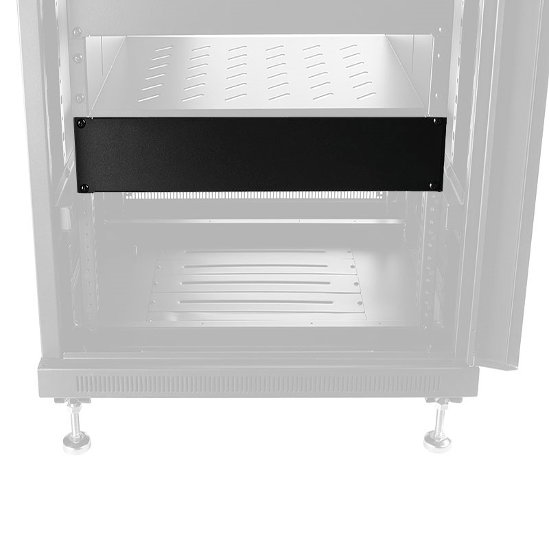 View A Larger Image Of The Omnimount Re2ublank Av Rack System Panel Accessory 2ru