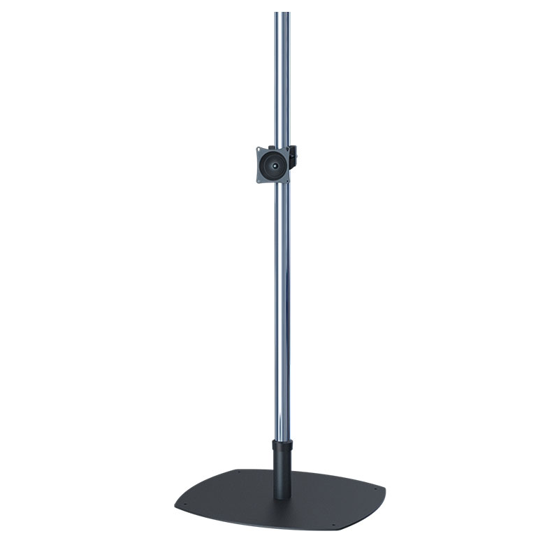Premier Mounts Prestige Single Pole Floor Stand For 17 40 Inch