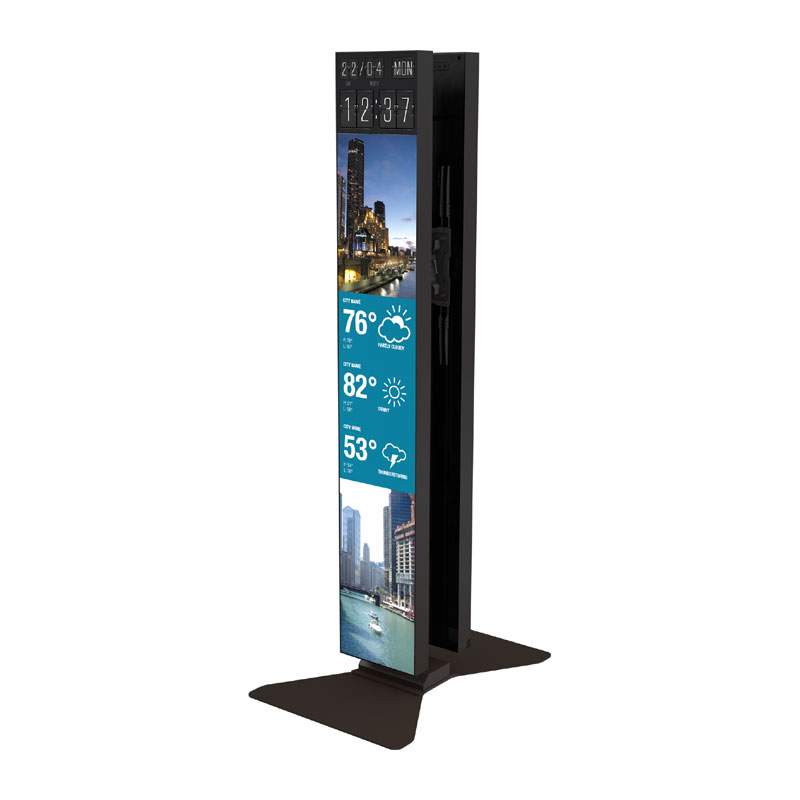 Crimson S86LGD Portrait Stand for Dual LG 86 inch Stretch Displays