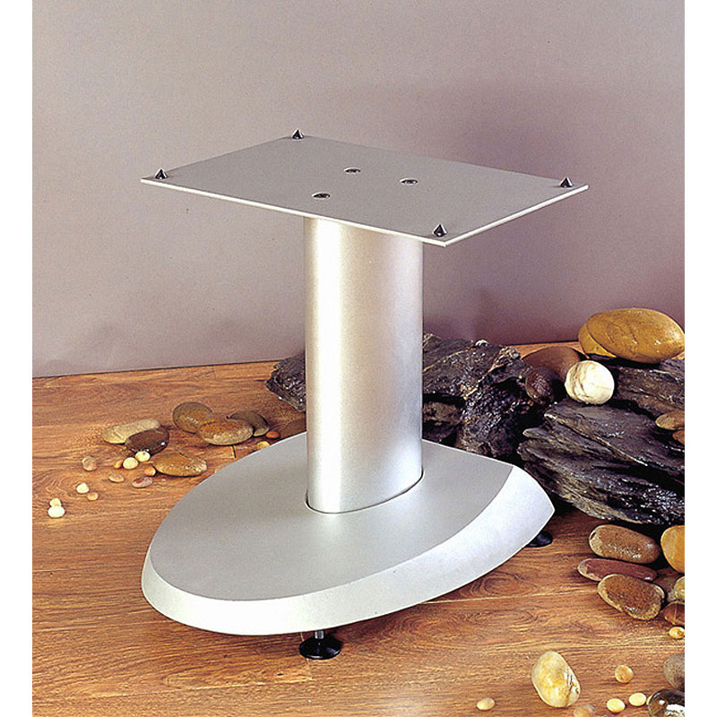 "VTI DFC 19/"" Height Cast Iron Base Center Speaker Stand"