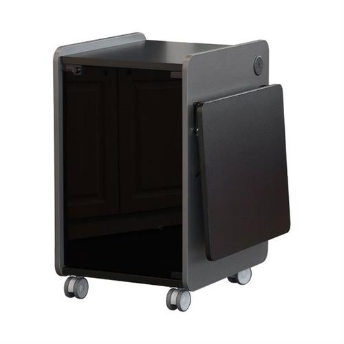View a larger image of the AVFI Mobile Multimedia Presentation Stand (Black) 103420 here.