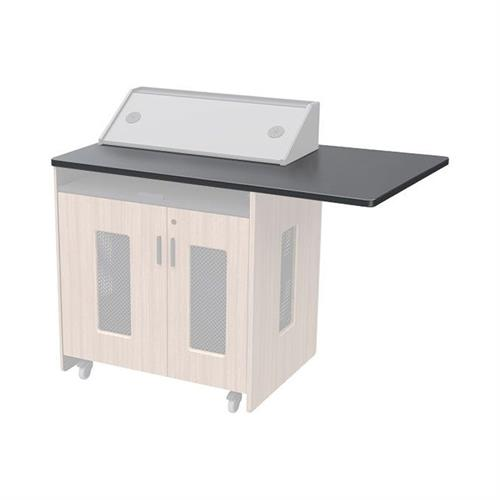 View a larger image of the Audio Visual Furniture PD51 Overhang Worktop (Right) 5101TP-R here.