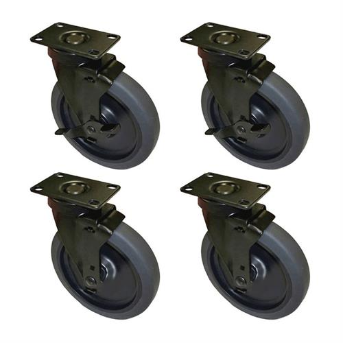View a larger image of Audio Visual Furniture CASTERX4 Six Inch Casters (Set of 4).