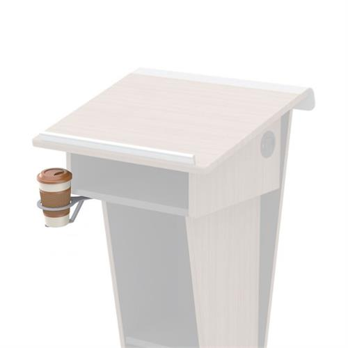 View a larger image of the Audio Visual Furniture Podium or Lectern Swivel Cup Holder, CHLD245 here.