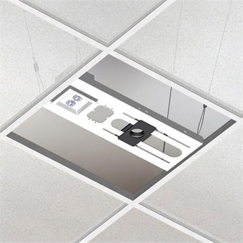 "View a larger image of the Chief CMA443 Above Tile Suspended Ceiling Kit & 3"" Fixed Pipe."