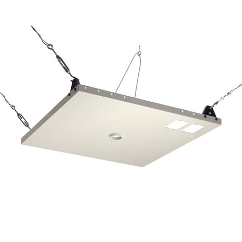 View a larger image of the Peerless CMJ450 Heavy Duty 2x2 Suspended Ceiling Plate.