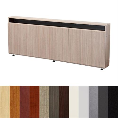 View a larger image of the AVFI CR3-WM Triple Rack Wall Mounted Credenza (Various Colors).
