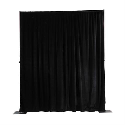 View a larger image of the Da-Lite 36793 Background Drapery (Black, 4x13) here.