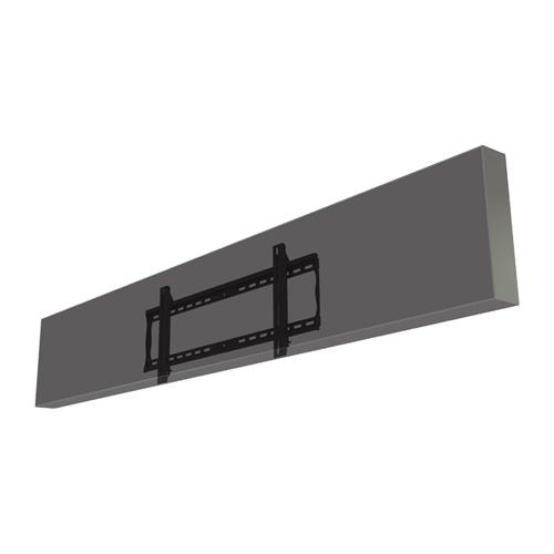 View a larger image of the Crimson F86LG Fixed Wall Mount for LG 86 inch Stretch Displays.