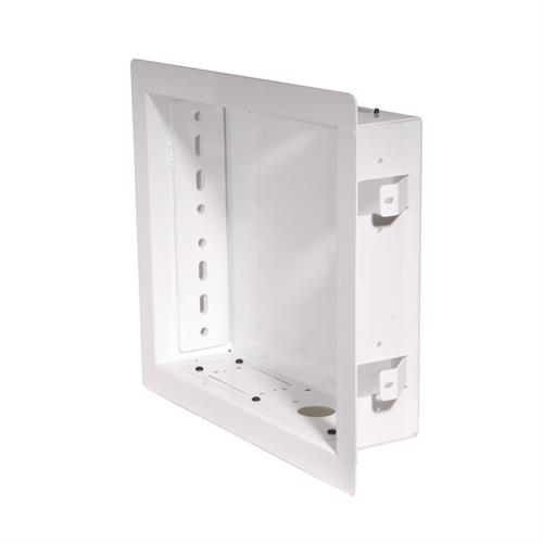 View a larger image of the Peerless IB40-W White Paramount Series In-Wall Box.