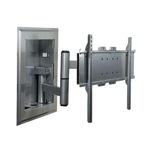 View a larger image of the Peerless IM760PU-S Silver Universal In-Wall Mount for Mid to XL Screens.