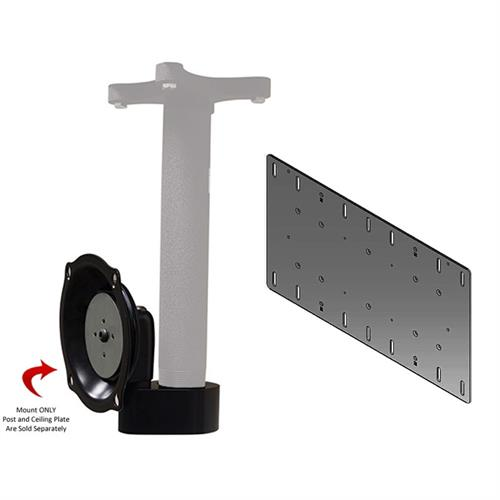 View a larger image of the Chief JHSVB Ceiling Mount Lower Assembly for Mid Size Screens up to VESA 400x200.