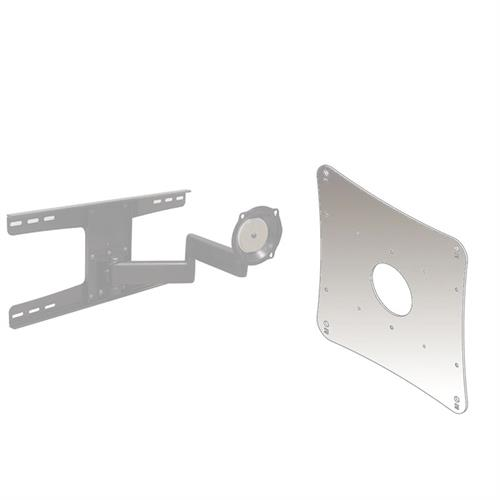 View a larger image of the Chief JWDSK210S Silver Metal Stud Wall Mount with 200x200 VESA Adapter.