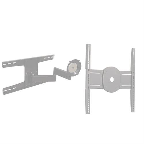 View a larger image of the Chief JWDSKUS Silver Universal Metal Stud Wall Mount for Mid Size Screens.