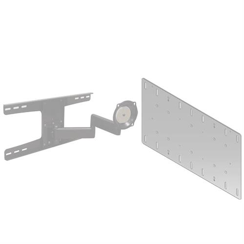 View a larger image of the Chief JWDSKVS Silver Metal Stud Wall Mount with 400x200 VESA Adapter.