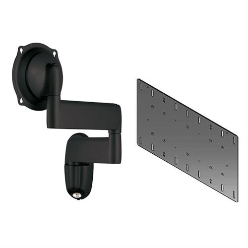 View a larger image of the Chief JWDVB Black Swing Arm Wall Mount with 400x200 VESA Adapter.