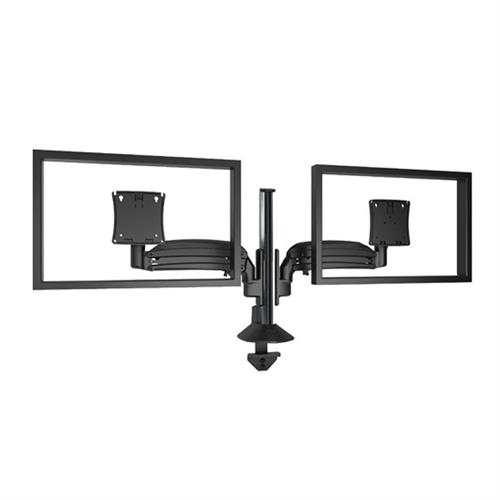 View a larger image of the Chief K1C210B Kontour Dual Screen Dynamic Column Desk Mount.