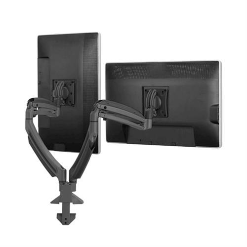 View a larger image of the Chief K1D220B Kontour Dual Screen Dynamic Desk Mount.