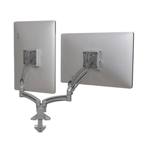 View a larger image of the Chief K1D220SXRH Kontour Reduced Height Dual Screen Dynamic Desk Mount.